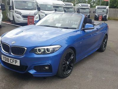 used BMW 220 2 Series 2.0 i M Sport Auto (s/s) 2dr