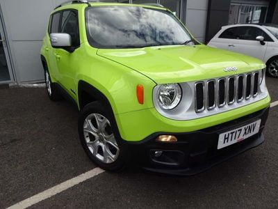 used Jeep Renegade 1.4T MultiAirII Limited (s/s) 5dr