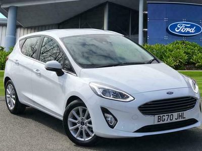 used Ford Fiesta 1.0T EcoBoost MHEV Titanium (s/s) 5dr Hatchback