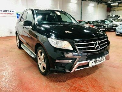 used Mercedes ML250 M-CLASS 2.1BLUETEC AMG SPORT 5d 204 BHP
