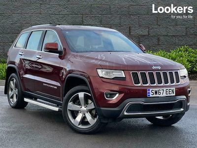 used Jeep Grand Cherokee SW DIESEL 3.0 CRD Limited Plus 5dr Auto [Start Stop]