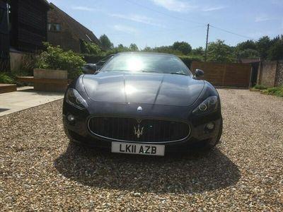 used Maserati Granturismo GRANCABRIO