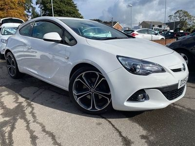 used Vauxhall Astra GTC Astra 1.6LIMITED EDITION CDTI S/S 3d 108 BHP