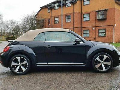 used VW Beetle 1.6 TDI BlueMotion Tech Design Cabriolet DSG 2dr