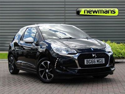 used DS Automobiles DS3 Elegance Bluehdi S/S 1.6 3dr
