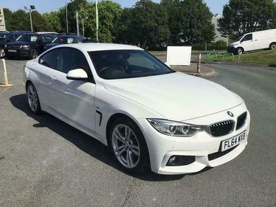used BMW 420 4 Series i M Sport 2dr Auto Coupe 2014