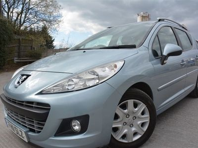 used Peugeot 207 1.6 HDI SW ACTIVE 5d 92 BHP MAIN DEALER SERVICE HISTORY*£20 TAX
