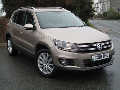 used VW Tiguan 2.0 TDi BlueMotion Tech Match Edition 150 5dr DSG