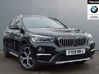 used BMW X1 xDrive 18d xLine 5dr Step Auto Estate 2019