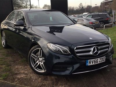 used Mercedes E220 E-ClassAmg Line 4Dr 9G-Tronic