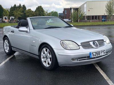used Mercedes SLK230 KOMPRESSOR CONVERTIBLE AUTOMATIC