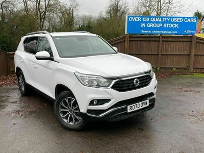 used Ssangyong Rexton 2.2D Ice T-Tronic 4WD 5dr (7 Seat)