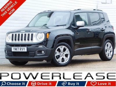 used Jeep Renegade 1.6 M-JET LIMITED 5d 118 BHP 1 OWNER FULL LEATHER SAT NAV