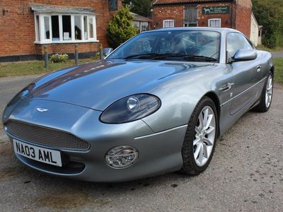 used Aston Martin DB7 V12 VANTAGE - OUTSTANDING CONDITION HUGE HISTORY PORTFOLIO LOW MILEAGE 2003