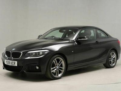 used BMW 218 2 Series i M Sport 2dr [Nav] For Sale Reg:YE18 UCR