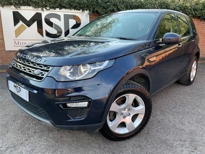 used Land Rover Discovery TD4 SE TECH