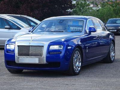 used Rolls Royce Ghost 6.6 EWB Saloon 4dr