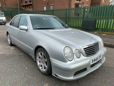 used Mercedes E240  E Class (X)Avantgarde 4dr Tip Auto [2.6] Long MOT, lovely drive, PX to clear