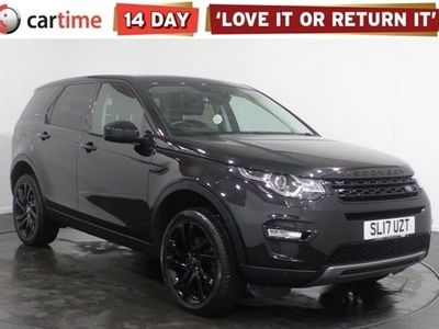used Land Rover Discovery Sport DISCO-Y SPORT BLACK HSE TD4 A