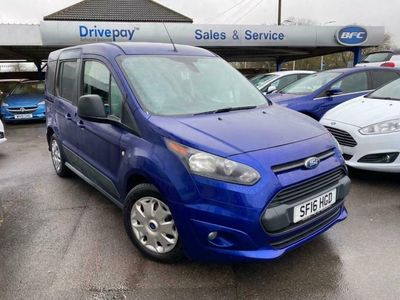 used Ford Tourneo Connect 1.5 ZETEC TDCI 5d 99 BHP WHEEL CHAIR VEHICLE WAV