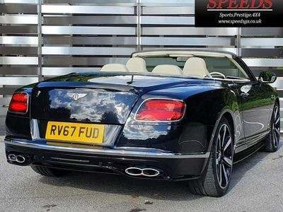 used Bentley Continental GT GTC Convertible 4.0 V8 S Mulliner Driving Spec 2d Auto