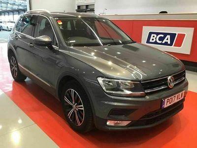 used VW Tiguan 2.0 SE NAVIGATION TDI BMT DSG 5d 148 BHP