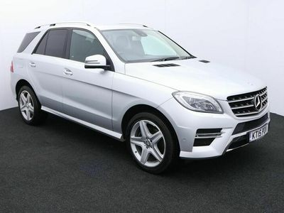 used Mercedes ML350 M Class 3.0CDI BlueTEC AMG Line 7G-Tronic Plus 4MATIC 5dr