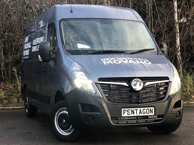 used Vauxhall Movano 3500 2.3 TURBO D 135PS L2 H2