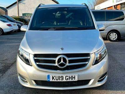 used Mercedes V220 V Class 2.2Sport G-Tronic+ LWB EU6 (s/s) 5dr 8 Seat LWB