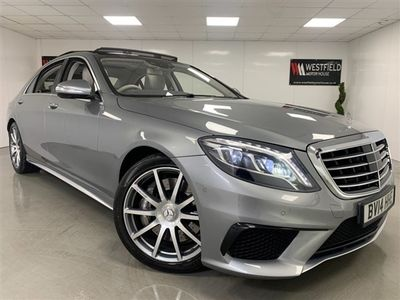 used Mercedes S63 AMG S Class 5.5AMG L 4d 585 BHP