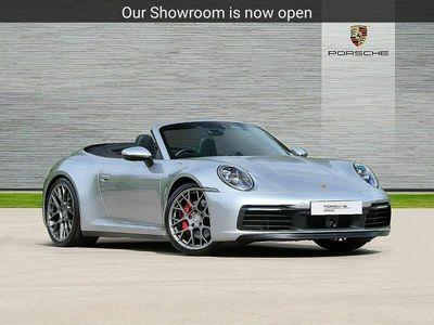 used Porsche 911 Carrera 4 Cabriolet 911 992 S 2dr PDK 3.0