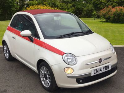 used Fiat 500 1.2 Lounge 2Dr [Start Stop]