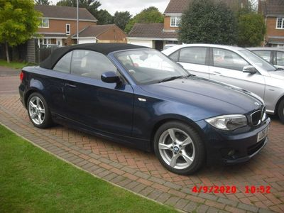 used BMW 118 Cabriolet