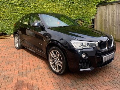 used BMW X4 2.0 20d M Sport Auto xDrive (s/s) 5dr