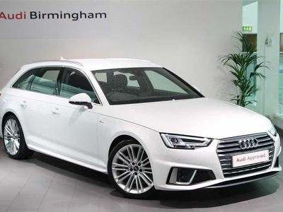 used Audi A4 Diesel 40 TDI S Line 5dr S Tronic Estate 2019