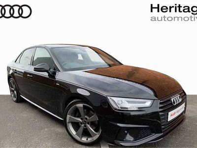 used Audi A4 35 Tfsi Black Edition 4Dr