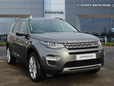 used Land Rover Discovery Sport 2.0 Si4 240 HSE Luxury 5dr Auto