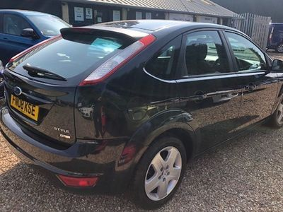 used Ford Focus Hatchback 1.6 TDCi Style 5d (08)