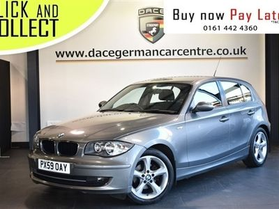 used BMW 118 1 SERIES 2.0 D SPORT 5DR 141 BHP SPORT SEATS+AIR CONDITIONING