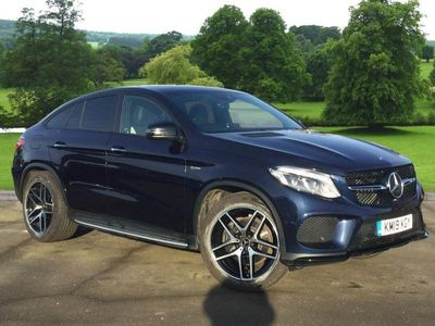 used Mercedes GLE43 AMG GL Class GLE Coupe4Matic Night Edition 5dr 9G-Tronic SUV 2019