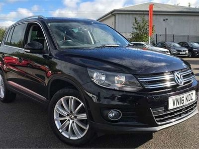 used VW Tiguan 2.0 TDi BlueMotion Tech Match Edition 150 5dr DSG suv 2016