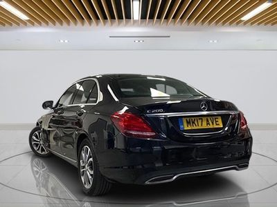 used Mercedes C200 C-Class SaloonSport 9G-Tronic Plus auto (12/16 on) 4d