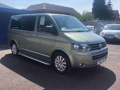 used VW Caravelle 2.0 EXECUTIVE TDI 5d 140 BHP WHEELCHAIR ACCESSIBLE