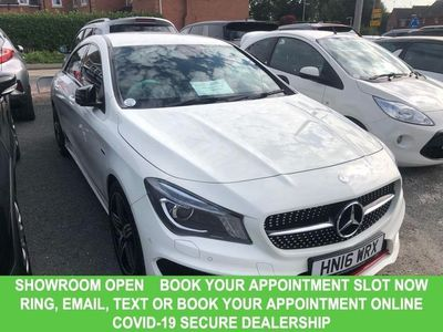 used Mercedes CLA250 CLA 2.0AMG 4d Coupe AUTO Lowest Mileage Example For Sale in
