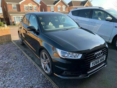 used Audi A1 Sportback 1.6 TDI Black Edition S Tronic (s/s) 5dr