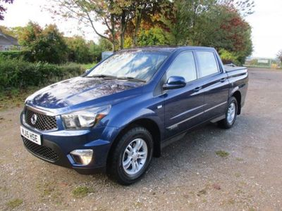 used Ssangyong Korando Sports Pick Up SX 5dr 4WD
