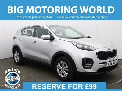 used Kia Sportage 1 ISG for sale | Big Motoring World