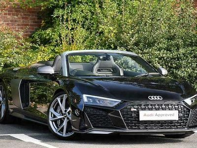 used Audi R8 Spyder V10 performance quattro 620 PS S tronic