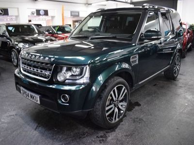 used Land Rover Discovery 4 3.0 SDV6 SE 5d 255 BHP 6 SERVICE STAMPS TO 82K MILES