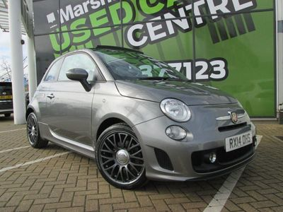 used Abarth 500 2014 Cambridge 1.4 T-Jet 135 2dr